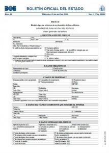 Informe de evaluación de edificios Getafe Madrid