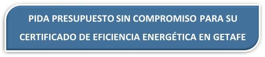 PRESUPUESTO CERTIFICADO ENERGETICO GETAFE