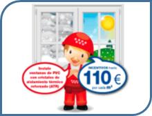 Plan Renove ventanas PVC Getafe Madrid