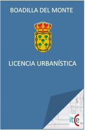 LICENCIAS URBANISTICAS LICENCIAS DE APERTURA Y ACTIVIDAD EN BOADILLA DEL MONTE