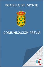 LICENCIAS URBANISTICAS PRESUPUESTO COMUNICACION PREVIA BOADILLA DEL MONTE