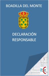 LICENCIAS URBANISTICAS PRESUPUESTO DECLARACION RESPONSABLE BOADILLA DEL MONTE
