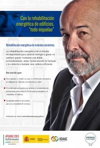 MINETUR PROMOCIONA LA EFICIENCIA ENERGÉTICA certificado energetico