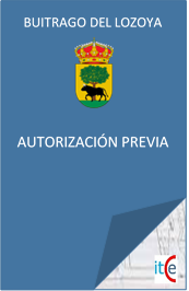 PRESUPUESTO LICENCIAS URBANISTICAS AUTORIZACIÓN PREVIA EN BUITRAGO DEL LOZOYA