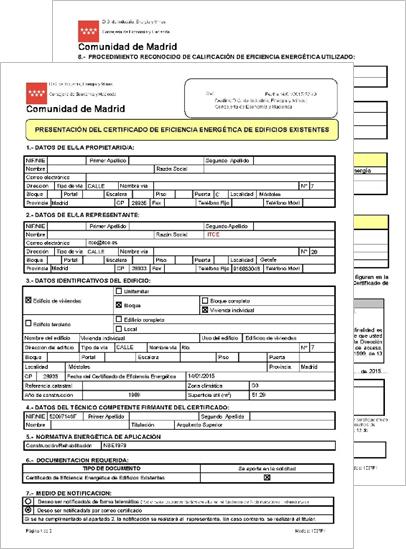 Certificaci n energ tica archivos itce for Oficinas de registro de la comunidad de madrid