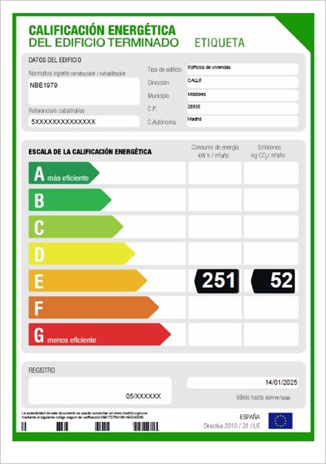 certificado energético getafe madrid 011