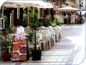 Ordenanza para mesas y veladores de terraza de bares en Getafe para 2016