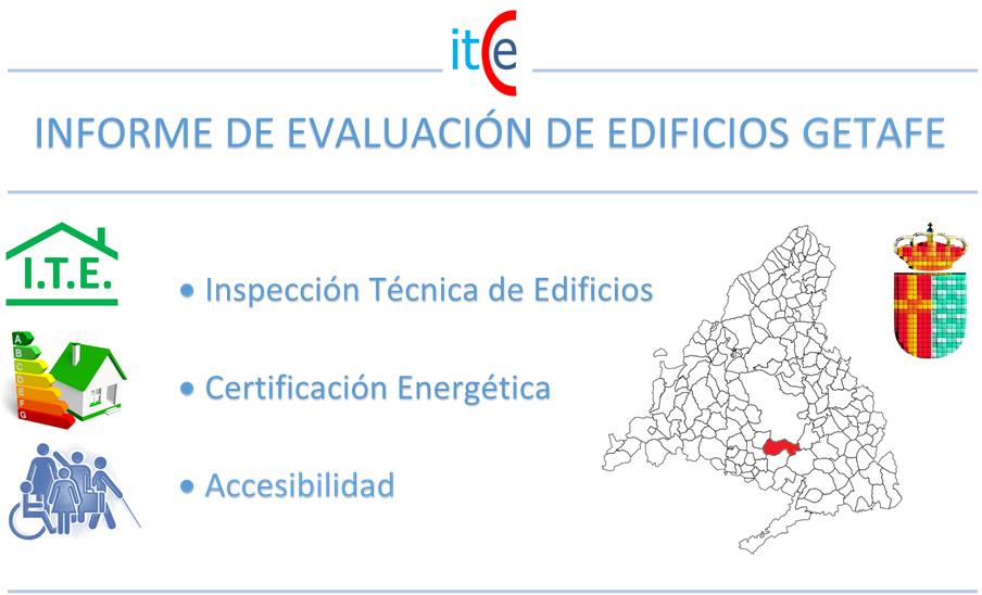 informe de evaluacion de edificios getafe