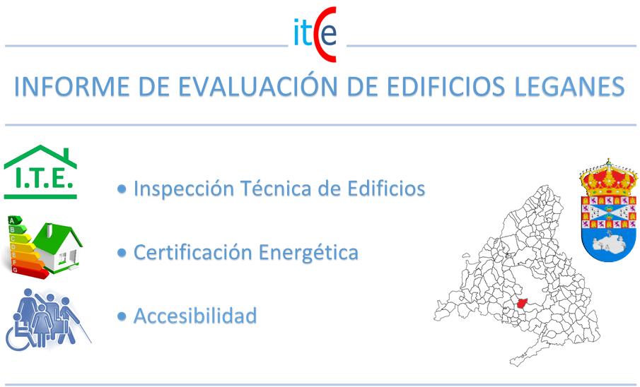 informe de evaluacion de edificios leganes
