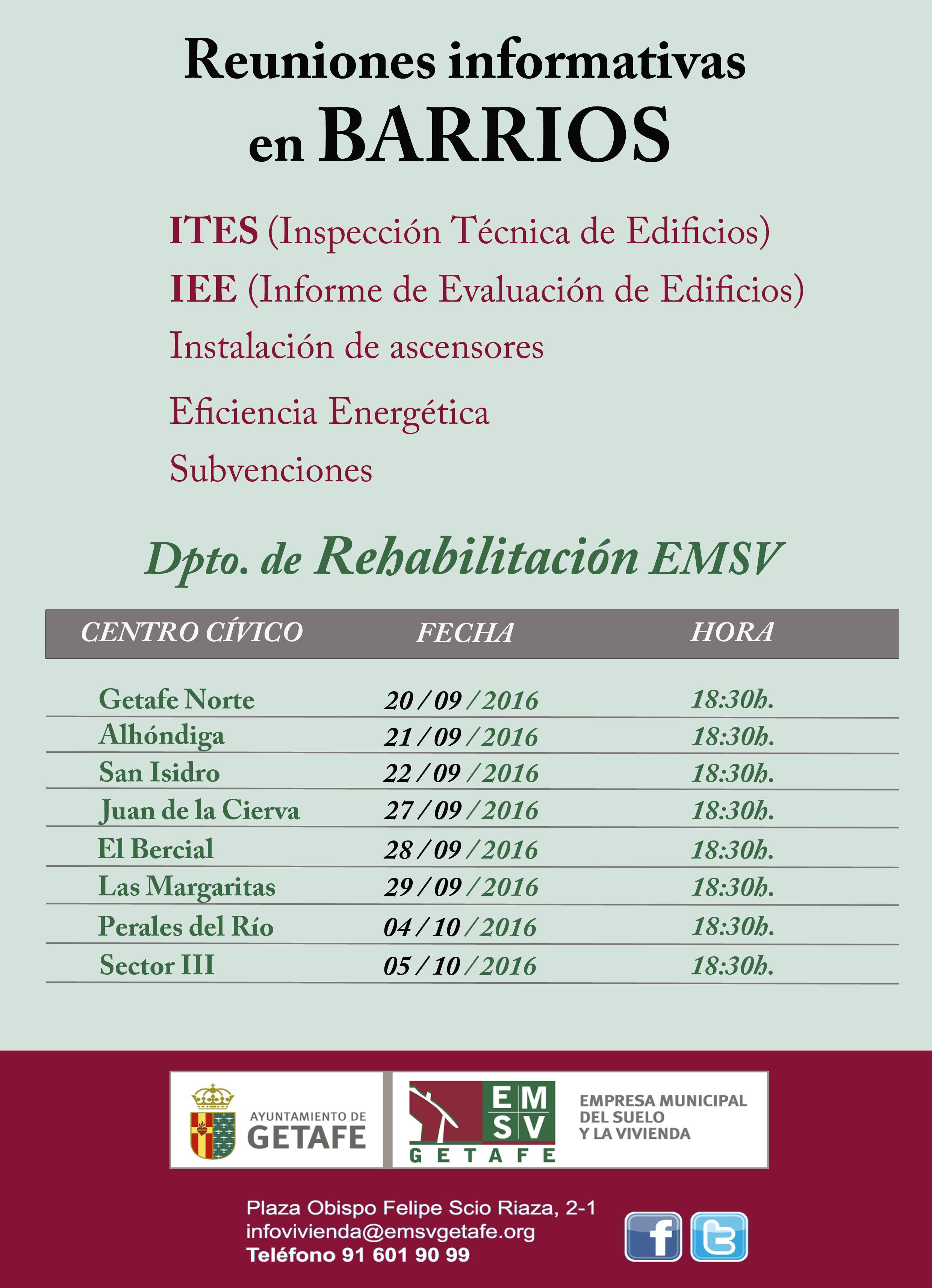 EL INFORME DE EVALUACION DE EDIFICIOS-IEE Y LA ITE EN GETAFE