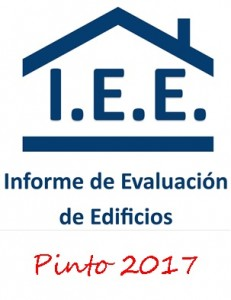 PINTO EL INFORME DE EVALUACIÓN DE EDIFICIOS