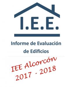 IEE INFORME DE EVALUACION DE EDIFICIOS EN ALCORCON EN 2017 y 2018
