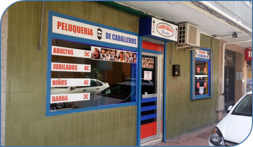 PELUQUERIA DE CABALLEROS EN GETAFE