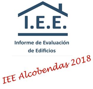 NFORME DE EVALUACION DE EDIFICIOS IEE EN ALCOBENDAS EN 2018
