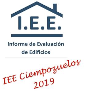 INFORME DE EVALUACION DE EDIFICIOS IEE EN CIEMPOZUELOS EN 2019