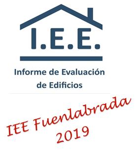 INFORME DE EVALUACION DE EDIFICIOS IEE EN FUENLABRADA EN 2019