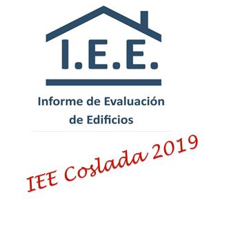 INFORME DE EVALUACION DE EDIFICIOS IEE EN COSLADA EN 2019