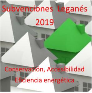 SUBVENCIONES PARA REHABILITACIÓN DE EDIFICIOS EN LEGANÉS PARA 2019
