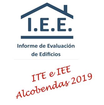 INFORMES IEE E ITE EN ALCOBENDAS EN 2019