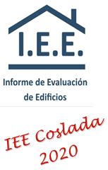INFORME DE EVALUACION DE EDIFICIOS IEE EN COSLADA EN 2020