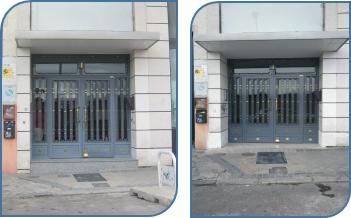 plataforma elevadora portal getafe madrid